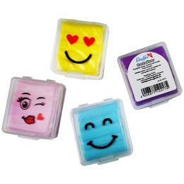 Läufer Knetgummi-Radierer Smiley, farbig sortiert