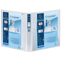 EXACOMPTA Präsentations-Ringbuch, A4 Maxi, blau, 2D-Ring