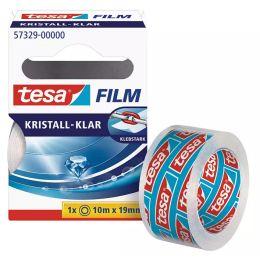 tesa Film, kristall-klar, 8-er Pack, 19 mm x 10 m