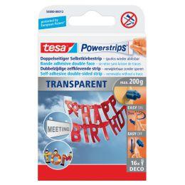 tesa Powerstrips DECO, transparent, Haltekraft: max. 0,2 kg
