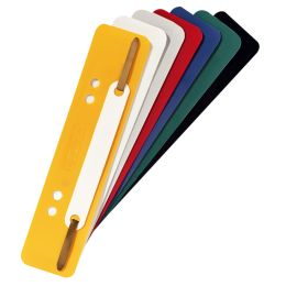 herlitz Heftstreifen, 34 x 150 mm, PP-Folie, farbig sortiert