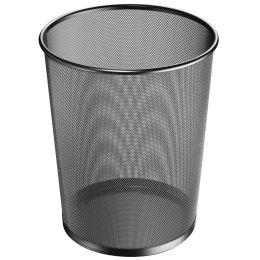 herlitz Papierkorb Manhattan, 18 Liter, schwarz