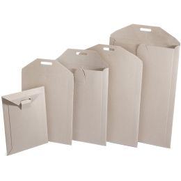 PAPYRUS Buchbox-Versandtaschen, 240 x 315 mm (Z3), braun