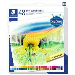 STAEDTLER Soft-Pastellkreide Design Journey, 48er Kartonetui