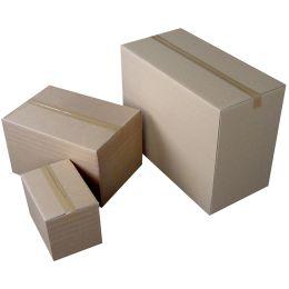 HAPPEL Wellpapp-Faltkarton 577, (L)350 x (B)240 x (H)250 mm