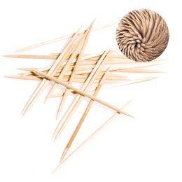 NATURE Star Zahnstocher, aus Holz, lose