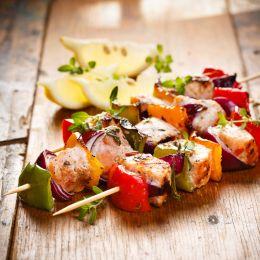 franz mensch Schaschlikspieße NATURE Star, aus Holz, 250 mm