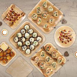 NATURE Star Palmblatt-Teller, rund, 250 mm