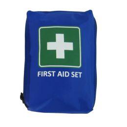 LEINA Mobiles Erste-Hilfe-Set First Aid, 21-teilig, blau