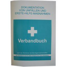 LEINA Verbandbuch, DIN A5, Farbe: weiß/grün