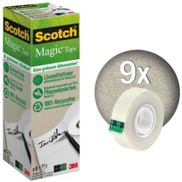 3M Scotch Magic Klebefilm A greener choice 900, 19 mmx30 m