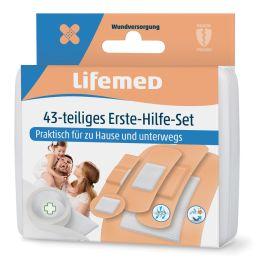 Lifemed Erste-Hilfe-Pflaster-Set, 43-teilig