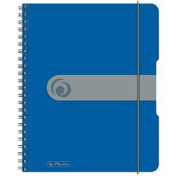 herlitz Collegeblock easy orga to go, A5, 80 Blatt, blau