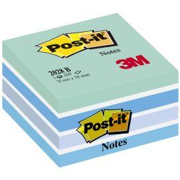 Post-it Haftnotiz-Würfel, 76 x 76 mm, Pastell-Pinktöne