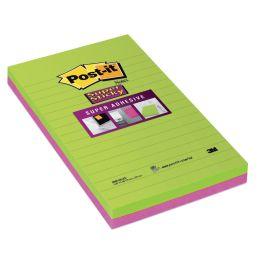 Post-it Haftnotizen Super Sticky Notes, 125 x 200 mm