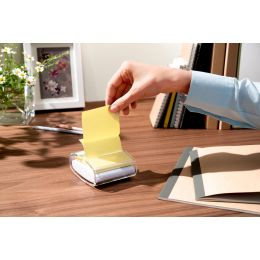 Post-it Haftnotizen Recycling Z-Notes, 76 x 76 m, gelb