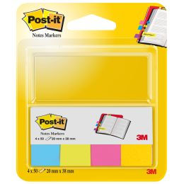 Post-it Pagemarker aus Papier, 15 x 50 mm, Neonfarben