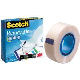 3M Scotch Klebefilm Magic 811, ablösbar, 19 mm x 33 m
