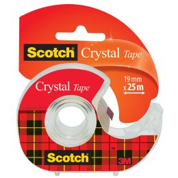 Scotch Klebefilm Crystal Clear 600, Caddy Pack
