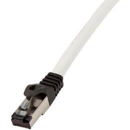 LogiLink Premium Patchkabel, Kat. 8.1, S/FTP, 0,5 m, grau