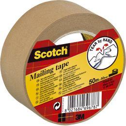 3M Scotch Verpackungsklebeband P5050, Papier, 50 mm x 50 m