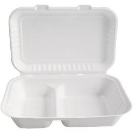 NATURE Star Zuckerrohr-Lunchbox, mit Deckel, innen 2-geteilt
