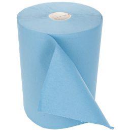 HYGOSTAR Putzrolle, 2-lagig, blau, 350 m