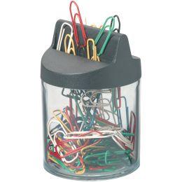 DURABLE Klammernspender mit Magnet, aus Acryl