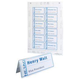 DURABLE Einsteckschilder für Tisch-Namensschilder, weiß