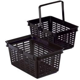 DURABLE Einkaufskorb SHOPPING BASKET 19, 19 Liter, schwarz