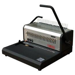pavo Plastikbindegerät HD comb binder, silber / schwarz
