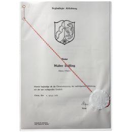 DURABLE Ausweishülle, aus PP, DIN A4, transparent