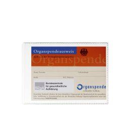 DURABLE Ausweishülle, aus PP, DIN A7, transparent