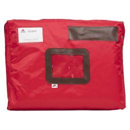 ALBA Banktasche POCSOU R mit Dehnfalte, aus Nylon, rot