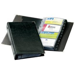 DURABLE Visitenkarten-Ringbuch VISIFIX, schmal, schwarz