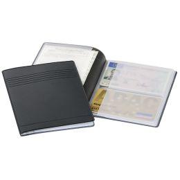 DURABLE Ausweis- und Kreditkarten-Etui, anthrazit