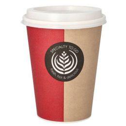 PAPSTAR Hartpapier-Kaffeebecher To Go, 0,3 l