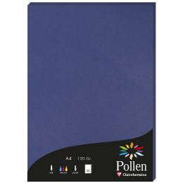 Pollen by Clairefontaine Papier DIN A4, nachtblau