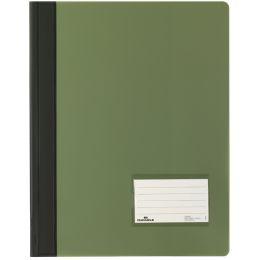 DURABLE Schnellhefter DURALUX, DIN A4, grün-transluzent