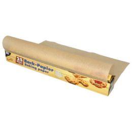 PAPSTAR Backpapier, Breite: 380 mm, Länge: 25 m, braun