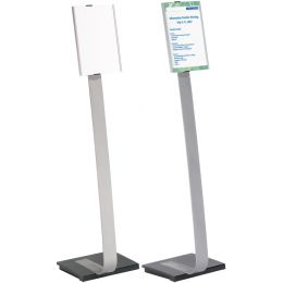 DURABLE Kappen INFO SIGN REFILL, schwarz