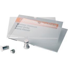 DURABLE Türschild CRYSTAL SIGN, (B)210 x (H)148 mm