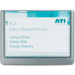 DURABLE Türschild CLICK SIGN, (B)149 x (H)105,5 mm, graphit