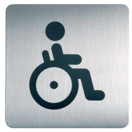 DURABLE Piktogramm PICTO WC Behindert, quadratisch