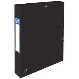 Oxford Sammelbox Top File+, 40 mm, DIN A4, schwarz