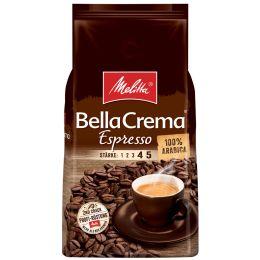 Melitta Kaffee BellaCrema Espresso, ganze Bohne