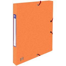 Oxford Sammelbox Top File+, 25 mm, DIN A4, orange