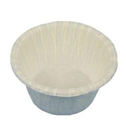 PAPSTAR Muffinförmchen, aus Papier, weiß, 20er
