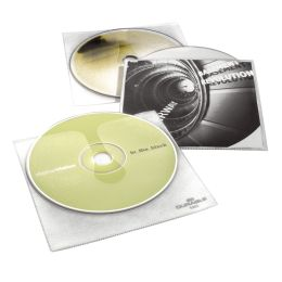 DURABLE CD-/DVD-Hülle COVER, für 1 CD, PP, transparent