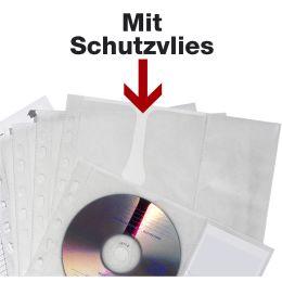 DURABLE CD-/DVD-Hülle COVER M, für 4 CDs, PP, DIN A4